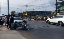 Vợ chết, chồng nguy kịch sau tai nạn liên hoàn giữa xe máy và 2 ôtô