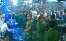 Tạm giữ nhiều người 'phê' ma túy trong vũ trường Lodge ở Nha Trang