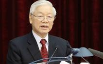 Tổng bí thư - Chủ tịch nước chúc mừng 70 năm thành lập Hội Nhà báo Việt Nam