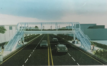TP.HCM xây thêm cầu vượt bộ hành tại công viên Hoàng Văn Thụ