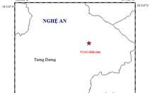 Xảy ra động đất 2,7 độ Richter tại Nghệ An
