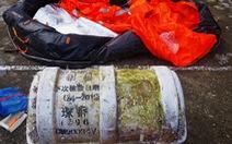 Phát hiện bộ phao cứu sinh Trung Quốc dạt vào bờ biển Thừa Thiên Huế