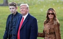Bà Melania điên tiết vì con trai 13 tuổi bị lôi vào cuộc điều tra luận tội ông Trump