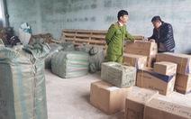 Đà Nẵng: Công an liên tục chặn bắt nhiều tấn hàng lậu Trung Quốc