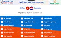 Mời bạn đọc dự đoán đội hình xuất phát của U22 Việt Nam trước Campuchia