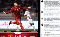 Cổ động viên Indonesia: 'Hạnh phúc khi gặp lại Việt Nam ở chung kết để... rửa hận'