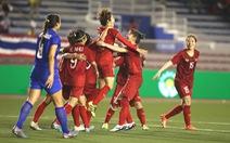 Việt Nam - Thái Lan (hiệp phụ 2) 1-0: Hải Yến mở tỉ số