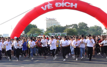 Video: Gần 20.000 sinh viên tham gia 'chạy vì sức khỏe, chạy vì môi trường'