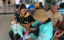 Trời lạnh khiến cúm, bệnh hô hấp ở trẻ em tăng mạnh