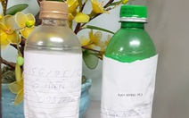 Truyền Ethanol nguyên chất vào dạ dày bệnh nhân nghi uống rượu cồn công nghiệp