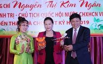 Chủ tịch Quốc hội thăm, chúc Tết HDBank, Vietjet