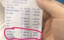 Nhà hàng ra hóa đơn hơn 16 triệu ở Nha Trang bị phạt 750.000 đồng