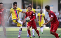 U-22 VN hòa CLB Sài Gòn 1-1 trước khi dự Giải U-22 Đông Nam Á 2019