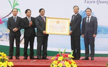 Khu bảo tồn Na Hang - Lâm Bình trở thành di tích quốc gia đặc biệt