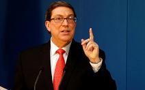 Cuba cảnh báo 'màn kịch nhân đạo' của Mỹ đối với Venezuela
