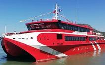 Tàu cao tốc chạy tuyến Vũng Tàu - Côn Đảo chỉ hơn 3 tiếng đồng hồ