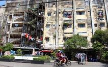 Trầy trật xây mới chung cư cũ