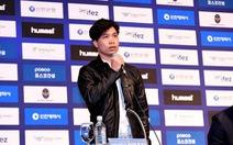 Video Công Phượng hứa cố gắng 'đưa bóng đá Việt Nam ra quốc tế'