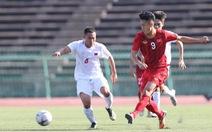 U22 Việt Nam - U22 Philippines (hiệp 1) 0-0: Bảo Toàn bỏ lỡ cơ hội ghi bàn