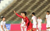 U22 Việt Nam ngược dòng đá bại Philippines 2-1 trận ra quân
