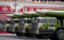 Trung Quốc nói tên lửa của mình 'chỉ để phòng thủ'