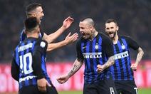 Inter thắng chật vật Sampdoria, Napoli bị cầm chân