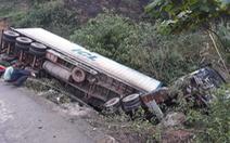 2 ngày, 2 vụ container gặp nạn trên quốc lộ 12A ở Quảng Bình