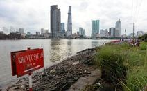 Lập bản đồ dự báo sạt lở trên sông Sài Gòn