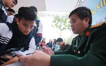 Các trường quân đội xét tuyển theo kết quả thi THPT quốc gia