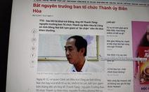 Truy tố nguyên trưởng ban tổ chức Thành ủy Biên Hòa vì ăn chặn tiền thi đua
