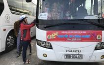 Đà Nẵng: 47 chuyến xe đưa hơn 2.000 lao động về quê ăn Tết