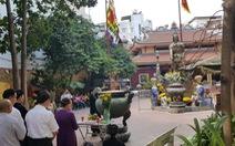 An vị lư hương tượng đài Trần Hưng Đạo tại đền thờ Đức Thánh Trần
