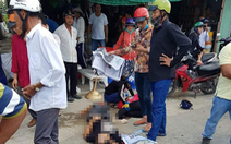 Xe tải va chạm xe máy, 8 người thương vong