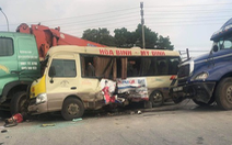 Yêu cầu điều tra vụ tai nạn liên hoàn làm 2 người chết, 5 người bị thương