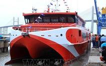 Tàu cao tốc Vũng Tàu - Côn Đảo mới đưa vào vận hành đã gặp sự cố
