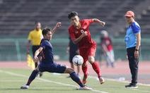 U-22 Việt Nam - U-22 Thái Lan 0-0: Vẫn là chuyện dứt điểm kém
