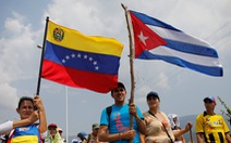 Venezuela đóng cửa một phần biên giới, chặn hàng cứu trợ của Mỹ