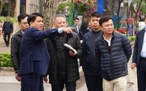 Chủ tịch Hà Nội kiểm tra các tuyến phố trước thềm thượng đỉnh