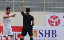 Video Quế Ngọc Hải bị thẻ đỏ trong trận ra mắt Viettel