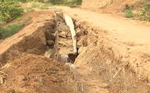 Kê khống khối lượng, xây hồ chứa nước hơn trăm tỉ rồi bỏ hoang