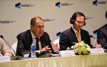 Ngoại trưởng Nga: Đàm phán đang đi theo lộ trình Nga đề xuất