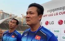 HLV Nguyễn Quốc Tuấn: 'Không vào chung kết nhưng U-22 VN đã hoàn thành nhiệm vụ'