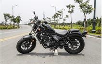 Honda Rebel 300 - chiếc phân khối lớn phù hợp cho người mới