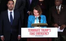 Hạ viện Mỹ thông qua dự luật chặn tuyên bố tình trạng khẩn cấp