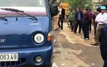 2 chiến sĩ công an bị tài xế xe chở gỗ lậu tông bị thương