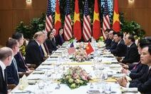 Thủ tướng Nguyễn Xuân Phúc thết Tổng thống Trump món chả giò tôm thịt