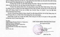 Giả văn bản chủ tịch tỉnh Quảng Nam để thổi giá đất