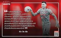 Đặng Văn Lâm 'hứa' sẽ giúp Muangthong United vô địch