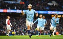 Thắng đậm Arsenal, Man City cách đỉnh bảng 3 điểm
