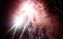 21h đêm 30, Châu Đốc đã rực trời đêm pháo hoa đón năm mới Kỷ Hợi